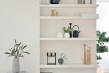 26 build in some Lack shelves into the wall if you ned more storage space than you have