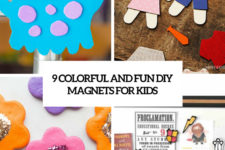 9 colorful and fun diy magnets for kids cover