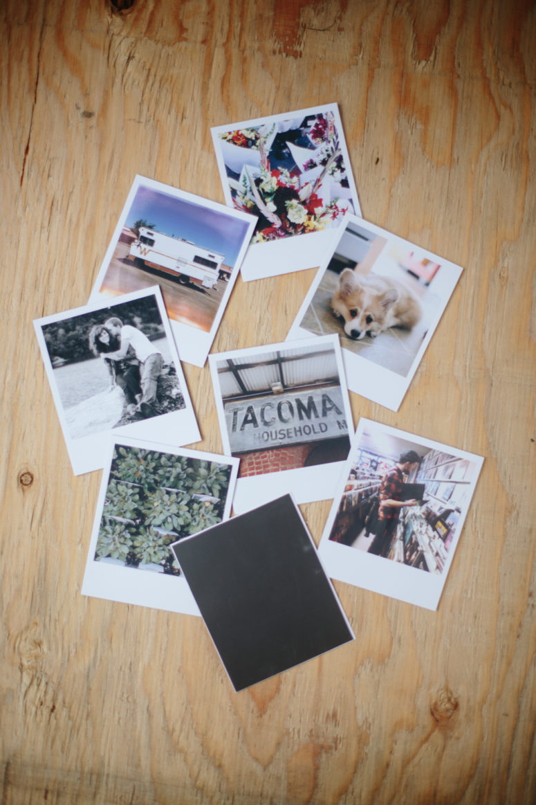 DIY Instagram magnets using magnet adhesive paper (via www.thebravelife.co)