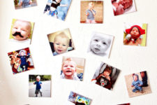 DIY personalized Instagram photo magnets