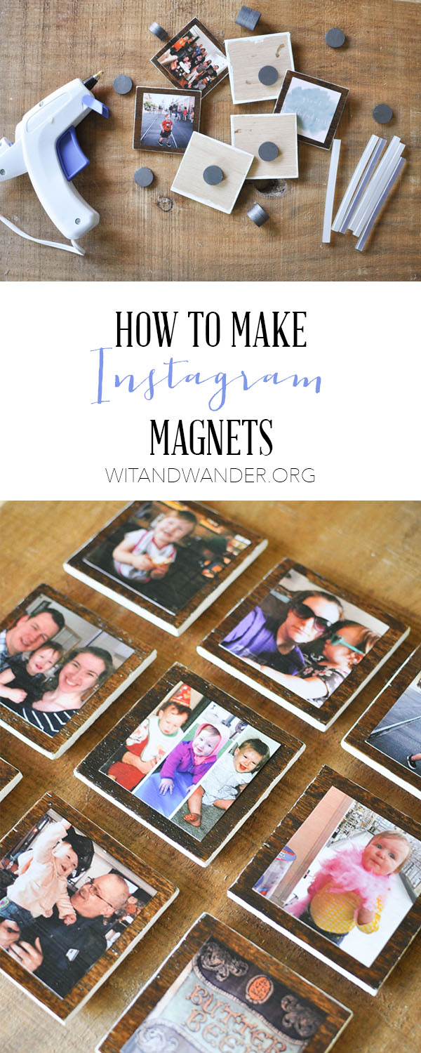 DIY Instagram magnets using plywood (via ourhandcraftedlife.com)