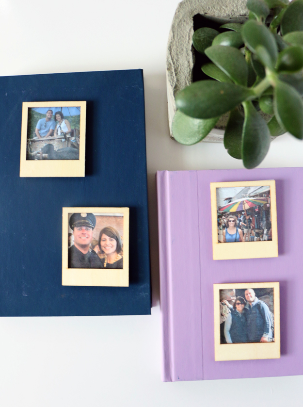 DIY Instagram Polaroid magnets  (via happinessiscreating.com)