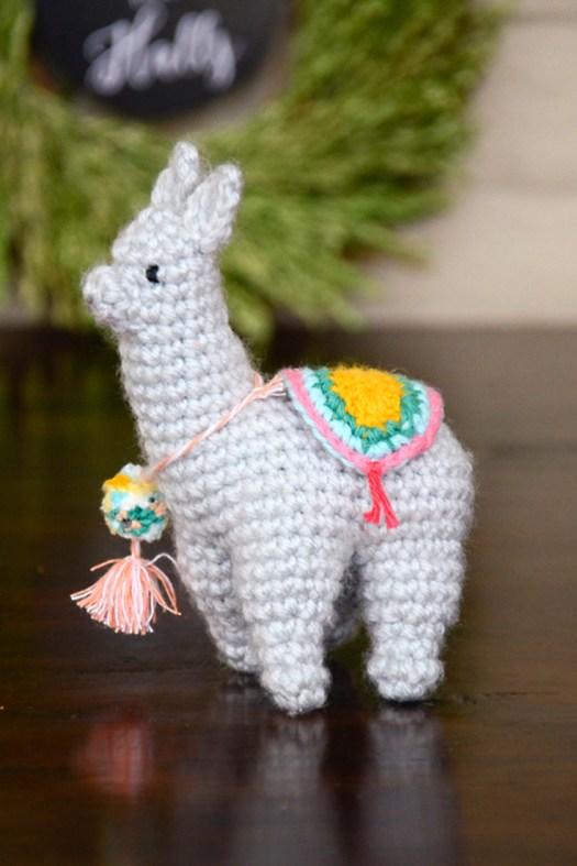 DIY super cute crocheted llama