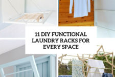 11 diy functional laundry racks for every space cover
