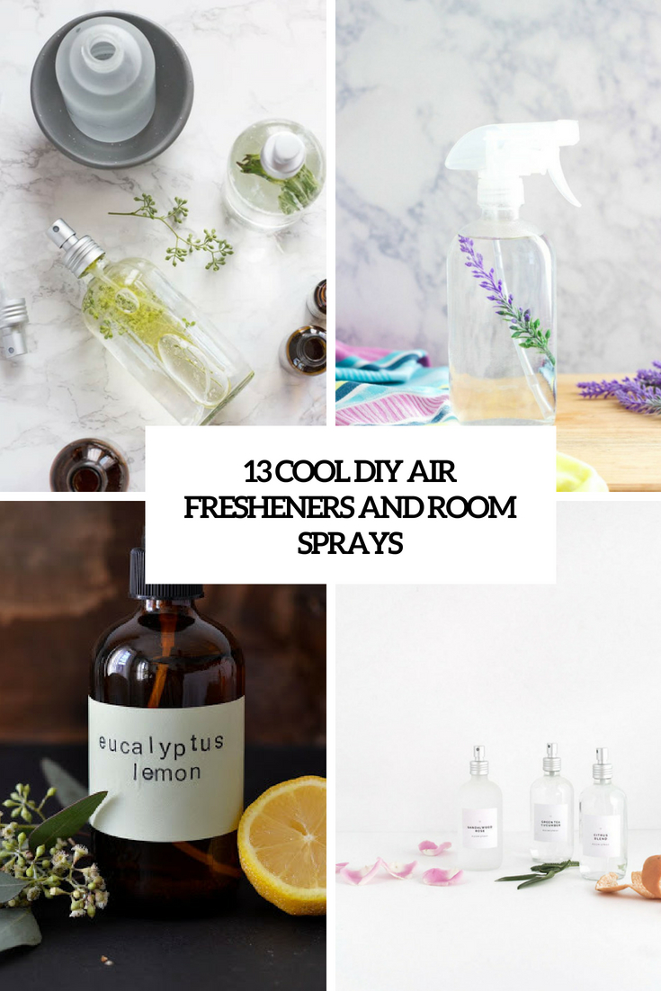 13 Cool DIY Air Fresheners And Room Sprays