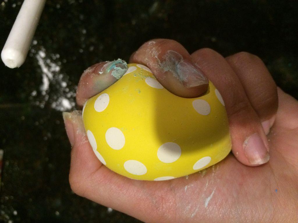 DIY slime filled stress ball