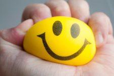 DIY flour filled emoji stress balls
