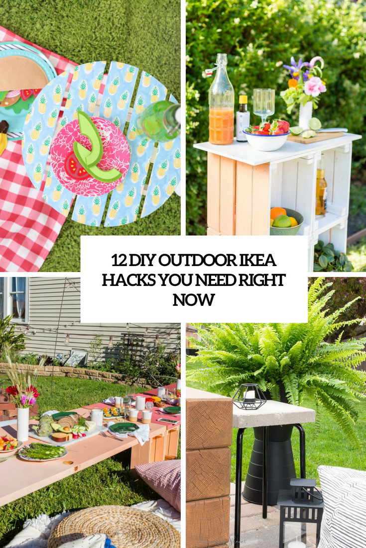 Marvelous 12 Diy Outdoor Ikea Hacks You Need Right Now Shelterness Ncnpc Chair Design For Home Ncnpcorg