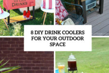 8 diy drink coolers for your outdoor space cover
