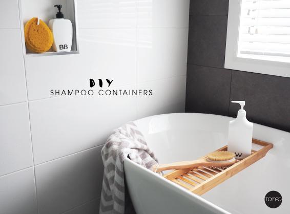 DIY minimalist shampoo containers (via www.tomfo.com)