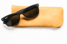 DIY basic leather sunglasses case