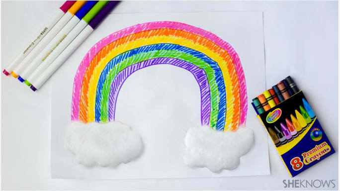 DIY white puffy paint and artworks with tutorials (via www.sheknows.com)