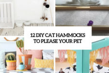 12 diy cat hammocks to please your pet cover
