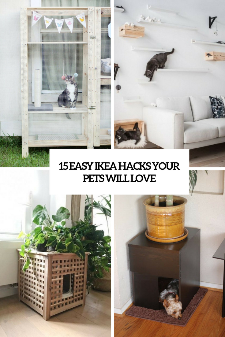 15 Easy IKEA Hacks Your Pets Will Love