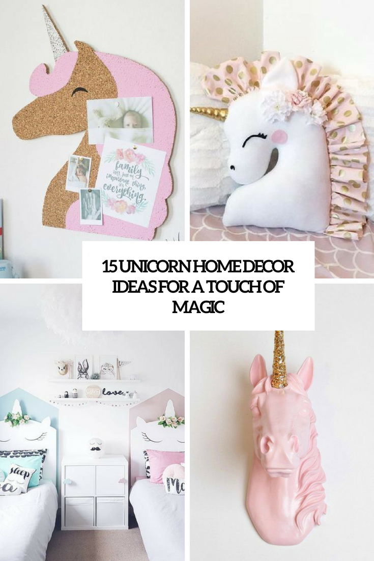unicorn home decor ideas for a touch of magic cover