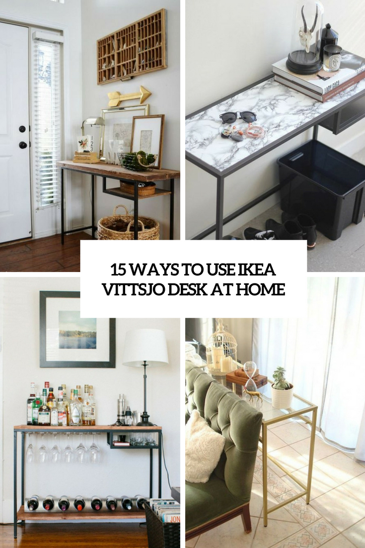 ways to use ikea vittsjo desk at home cover