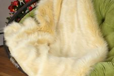 How to sew a faux fur throw
