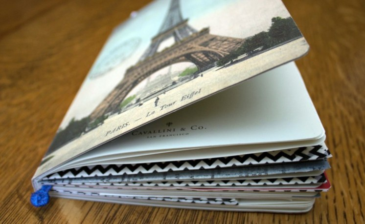 DIY Paris travel journal  (via www.ialwayspickthethimble.com)