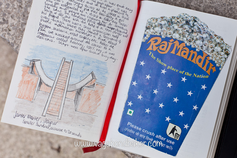 How to keep your travel journal super creatively