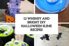 12 whimsy and bright diy halloween slime recipes cover