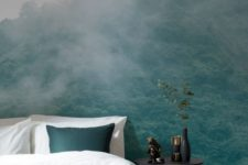 13 photo murals with nature like this one are ideal for creating a stress-free zone in your home