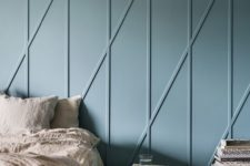 33 add a touch of geometry with modern modling panels and a pastel shade like this one