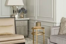 34 molding is a refined and timeless idea to rock in any interior, and it's a hot trend