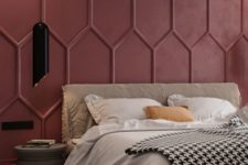 36 pair unique modern molding with a bright color to achieve a maximal effect in your space