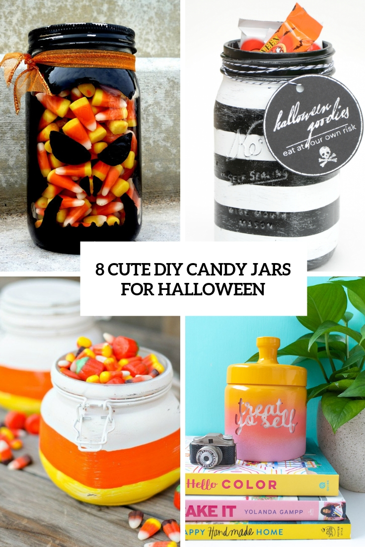 8 cute diy candy jarsfor halloween cover