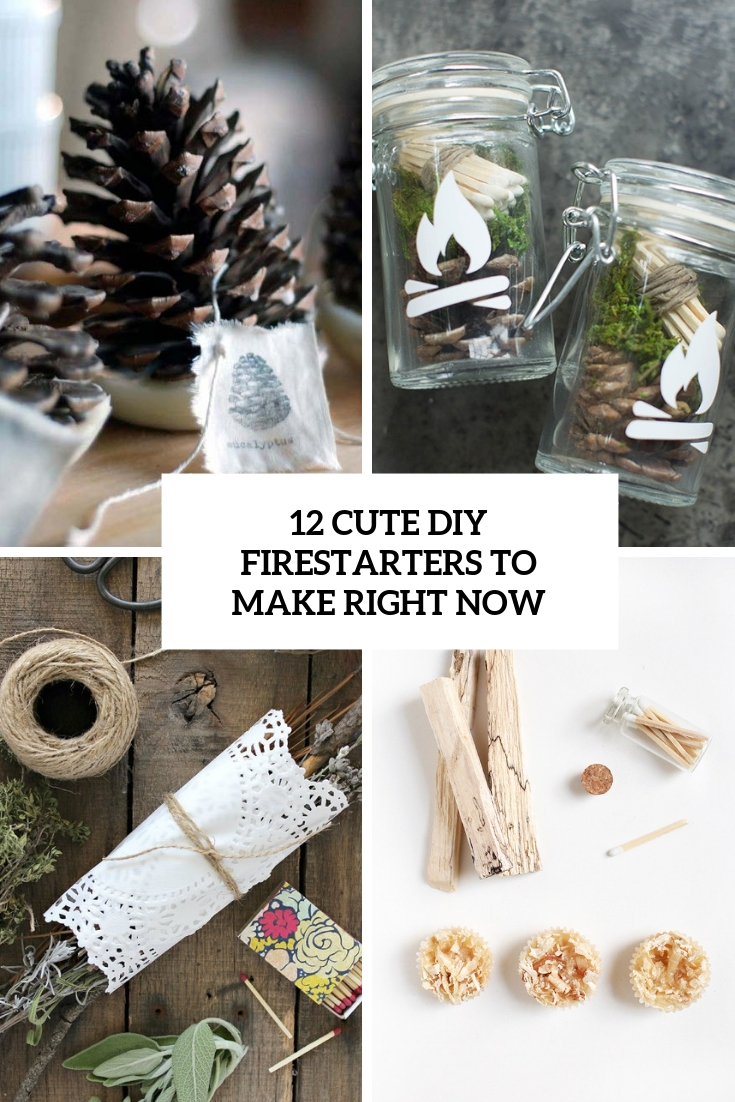 cute diy firestarters to make right now cover