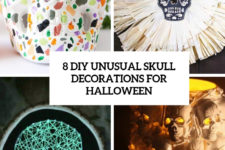 8 diy unusual skull decorations for halloween cover