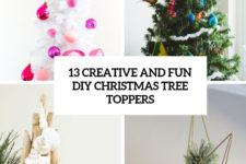 13 creative and fun diy christmas tree toppers cover