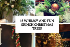 15 whimsy and fun grinch christmas trees cover