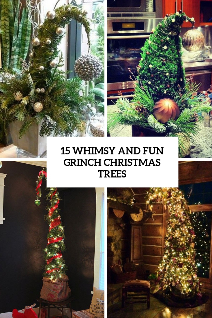 15 Whimsy And Fun Grinch Christmas Trees