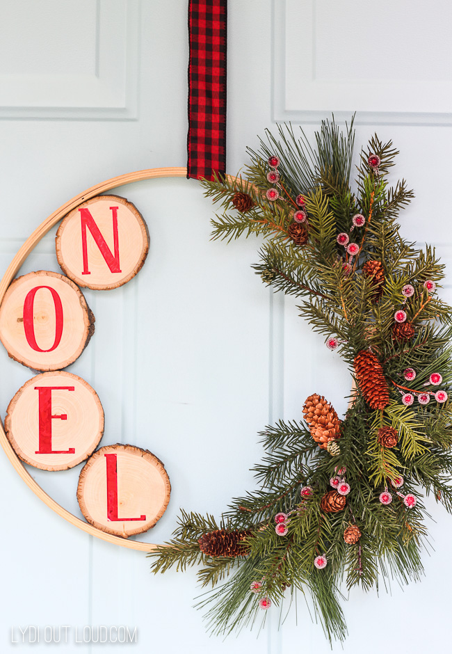 Rustic Christmas Wreath Diy.11 Cool And Easy Diy Embroidery Hoop Christmas Wreaths