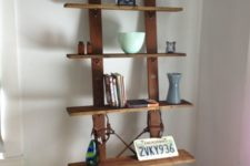 cool shelving unit suitable for a home office