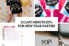 13 last minute diys for new year parties cover