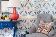 15 refresh your blue room with a touch of coral to give your beachside space an ultra-modern look