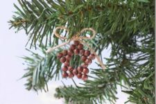 DIY easy and fast Christmas star ornaments