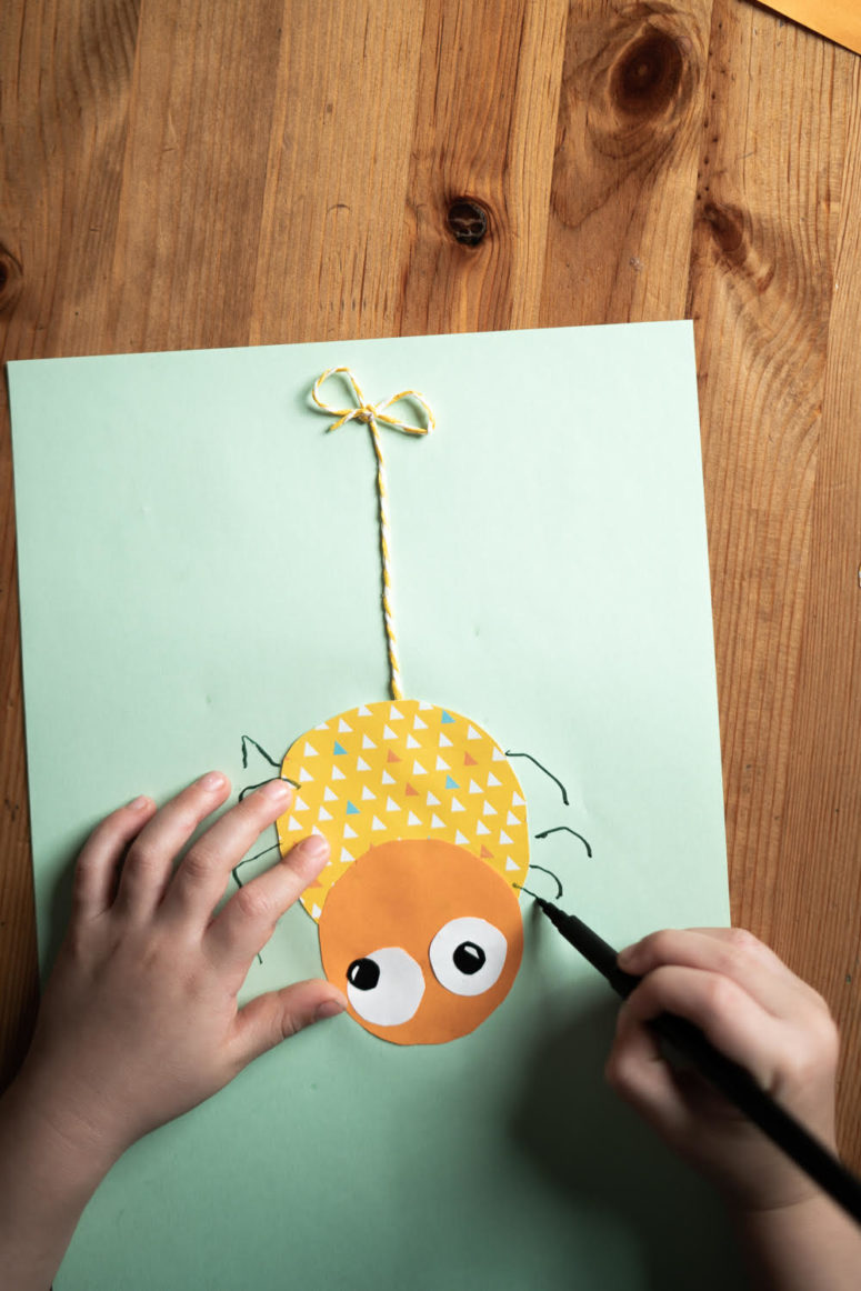 fun diy spiders to make with kids