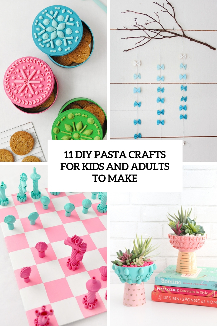 11 DIY Pasta Crafts For Kids And Adults To Make