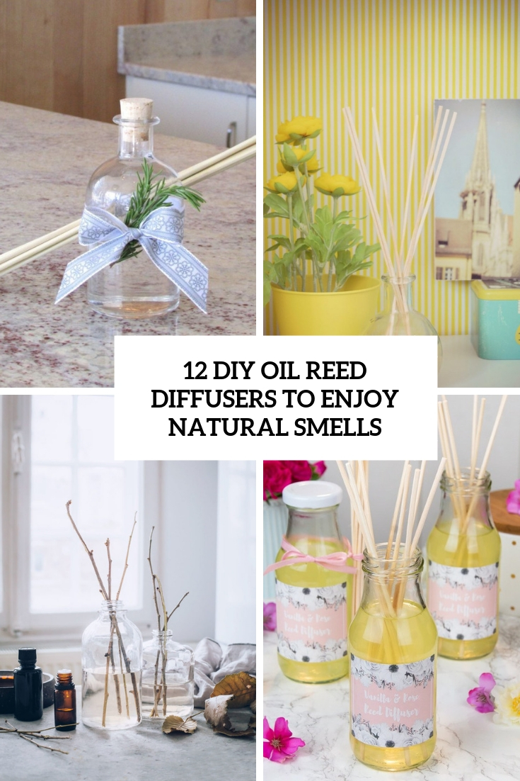 diy oil reed diffusers to enjoy natural smells cover