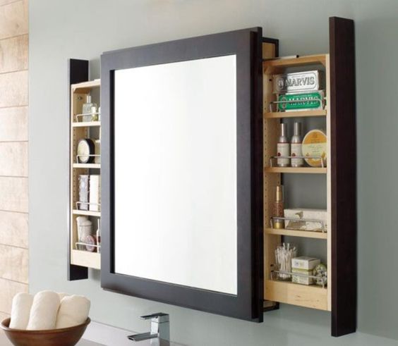 a large mirror with two drawers is a very comfortable piece that keeps your space neat