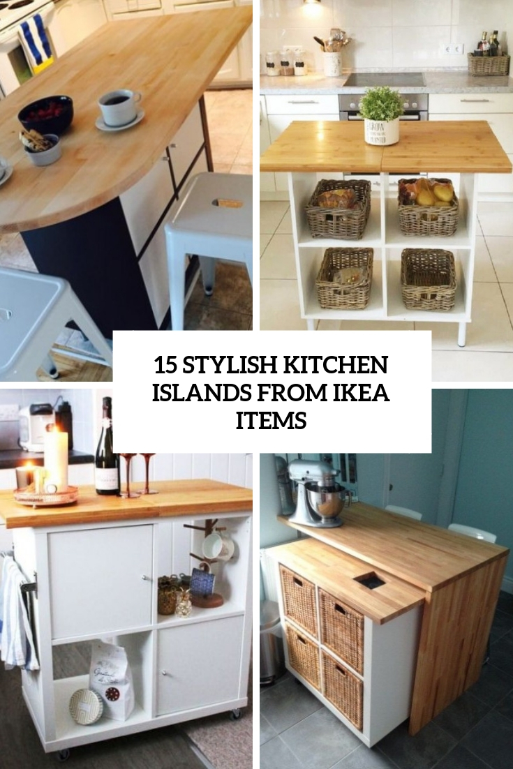 ikea kitchen island hack 15 stylish kitchen islands from ikea items shelterness 18747