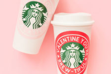 DIY personalized sticker coffee travel mugs