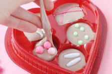 DIY Valentine's Day Mod Podge slime