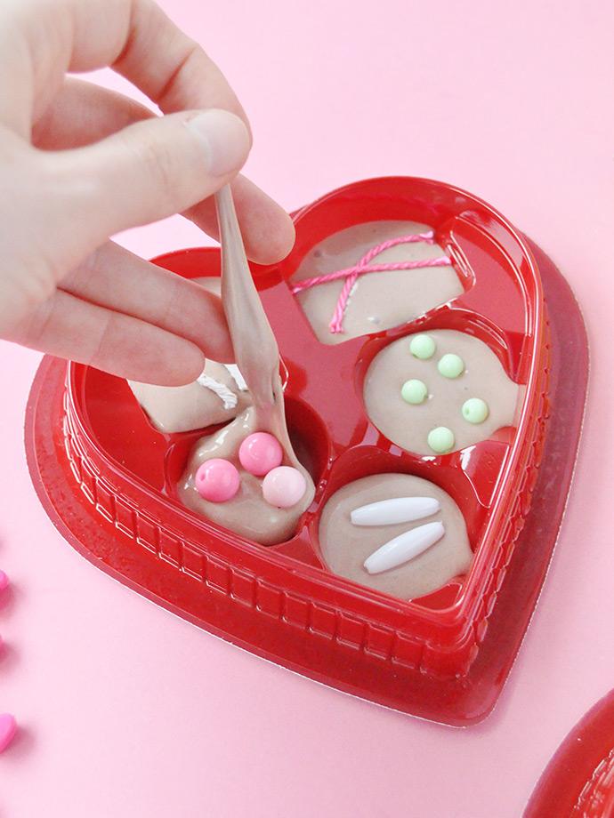 DIY Valentine's Day Mod Podge slime (via www.handmadecharlotte.com)