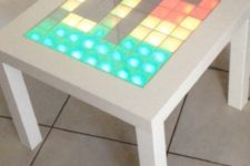04 a bright IKEA Lack table music LED visualiser is a nice way to spruce up your parties