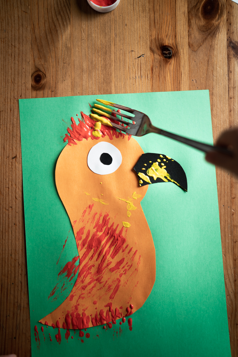 5 diy fork painted animals to make with kids cover