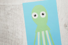 07 funny octopuses paper craft for your kids